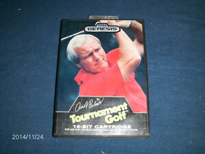 1989 GENESIS COMPUTER GAME-ARNOLD PALMER TOURNAMENT GOLF
