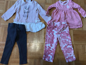 Girls 30 Piece Lot - Size 12 Months