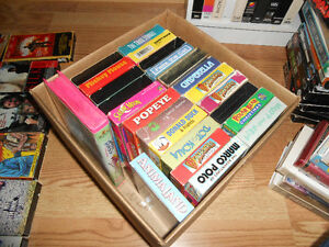 Box of Kids Cartoons on VHS - 24 movies for $15