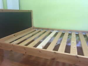 IKEA LADE twin bedframe. excellent condition $90