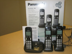 Panasonic Cordless Phone Set of 3