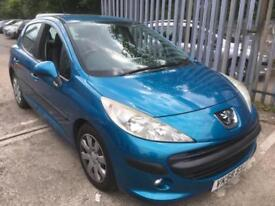 Peugeot 207 1.4HDI 70 ( a/c ) S £30 tax, up to 76 mpg