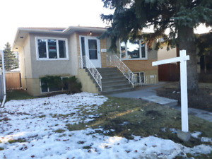 2 bdrm main floor plus fenced yard in Capilano/ Forrest Heights