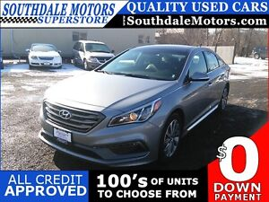 2016 HYUNDAI SONATA SPORTS TECH WITH NAVI