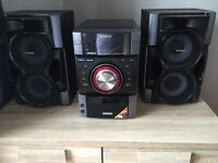 Sony stereo, cd player, docking station with Aux