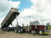 Aluminum End Dump Trailers 22' to 40' +Super B Train Decks Arnes