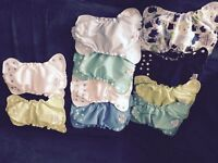 EUC size 1 applecheeks covers and inserts