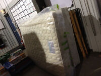 Barely Used Double Bed (Mattress and Box Spring) for Sale