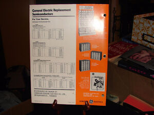 GE replacement semiconductors cross reference guide 1978 Strathcona County Edmonton Area image 2