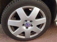 "Vw Bora bbs alloy wheels and tyres 17"""