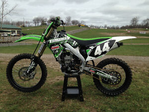 2011 KX 250f  1 owner only 30 hours MINT