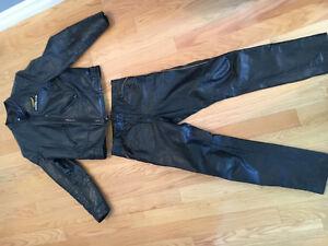Honda leather jacket & pants.