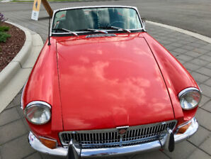 Terrific MGB Convertible! Must sell this month