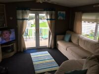 3 Bedroomed Double Glazed Central Heated Cheap Caravan Craig Tara WITH Decking
