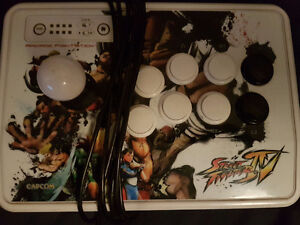 Street fighter console