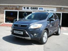 2012 (12) Ford Kuga 2.0TDCi (140ps) Titanium 5d ** 56,000 miles **