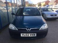 Vauxhall Corsa 1.2i 16v SXi 3 DOOR - 2002 02-REG - FULL 12 MONTHS MOT
