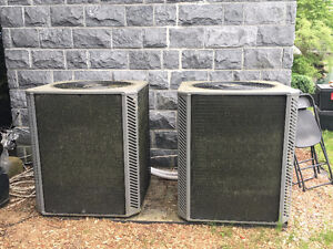 **FOR SALE: 2 YEAR OLD RAYPAK HEAT PUMP POOL HEATERS **
