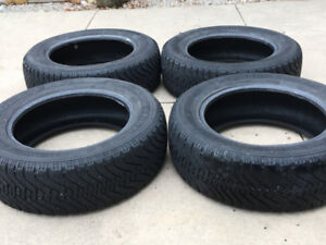 GOODYEAR NORDIC WINTER SNOW TIRES 215/65/R17