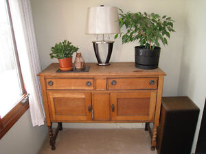 English Made Solid Wood Sideboard