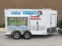 Refrigerated Cooler Trailer With Beer Taps - High Capacity