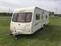 (56) BAILEY SENATOR WYOMING, SERIES 5, 4 BERTH, TWIN AXLE, TOURING CARAVAN