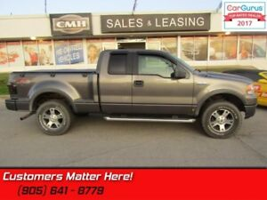 2005 Ford F-150 FX4   4X4, FLARE BOX, LEATHER, SUNROOF, FLOOR SH