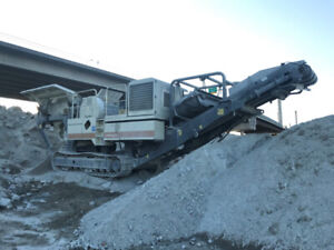 2010 METSO LT96 TRACK MOUNTED JAW CRUSHER