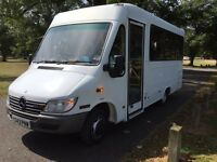 Mercedes sprinter 413cdi 18 seater would make a lovely camper