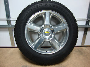 "NEW! 20"" CHEVROLET SILVERADO/TAHOE ""LTZ"" WHEELS/TIRES - $1950"