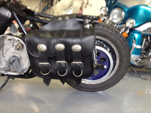 Saddlebags Willie and Max universal for harley Davidson