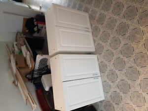 """White Cabinets 30""""x30"""""""