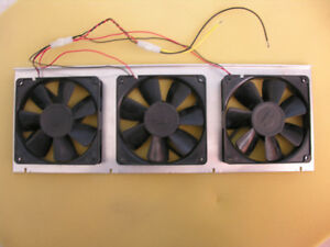 Three cooling fans for sell
