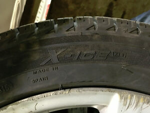 255/45R18 Michelin X-Ice Xi3 pneus d'hiver mags Mercedes TPMS West Island Greater Montréal image 5
