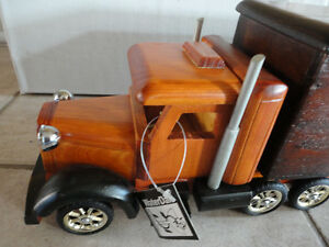 Brand new in box decorative wooden large truck storage London Ontario image 2