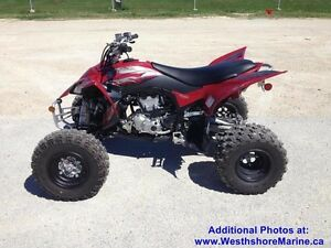 2014 Yamaha YFZ 450R - New w/ Warranty