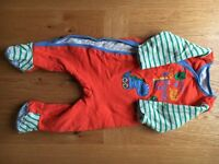 Mothercare padded all in one 9-12m