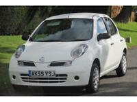 Nissan Micra 1.2 16v ( 79bhp ) Visia ECONOMIC CAR/37000 MILES