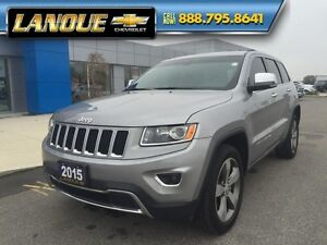 "2015 Jeep Grand Cherokee Limited  SUNROOF-20"" WHEELS-GREAT PRICE"