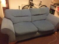 FREE Large 2 cushion sofa