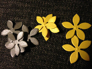 Yellow and Grey Decor Flowers*price dropped* Cambridge Kitchener Area image 4