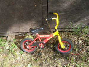 Cute kids bike