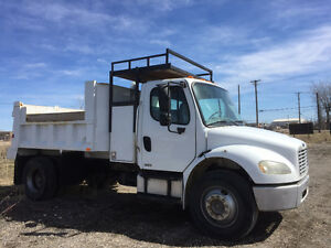 2005 Freightliner M2 Dump Truck - non emission Cat - single axle