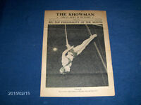 THE SHOWMAN-1946 CIRCUS NEWS JOURNAL-LALAGE-TRAPEZE+