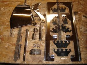 SBC CHROME ENGINE PARTS KIT