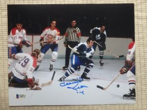 Dave Keon Toronto Maple Leafs Signed 10x8 Photo With COA
