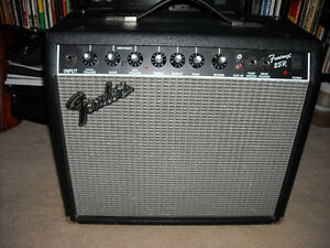 Fender 25W Frontman 25R Guitar Combo AMPLIFIER