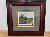 The Lily Pond print by Tom Thomson Framed/Matted