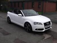 Audi A3 Cabriolet 2.0TDI S Line FINANCE AVAILABLE WITH NO DEPOSIT NEEDED