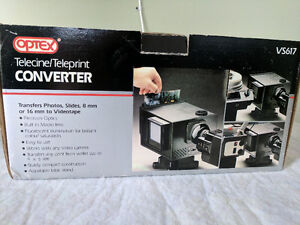 MINT IN BOX - Optex Telecine / Teleprint Converter